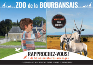 Château et parc zoologique de la Bourbansais